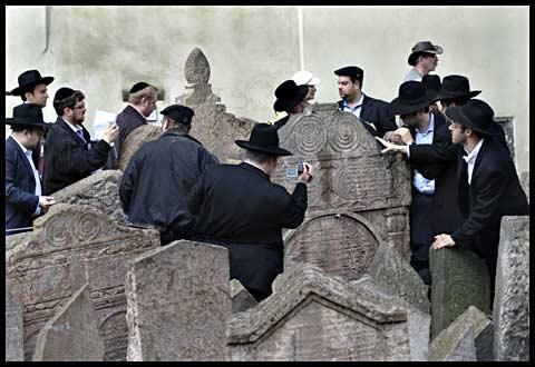 Jewish Cemtery in Prague