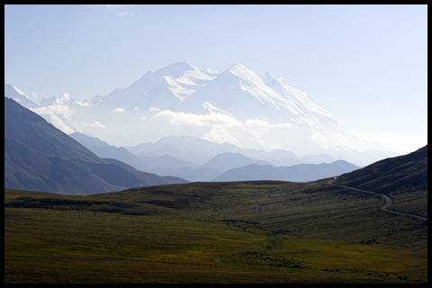Denali in the distance